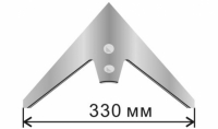 Лапа культиватора 330