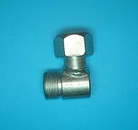 Уголок соединительный (с контргайкой) S24 М20х1,5-Г24(М20х1,5)