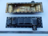 Бачок радиатора нижний метал 70У-1301055М